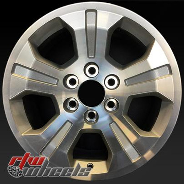 18 inch Chevy Silverado  OEM wheels 5647 part# 20937771