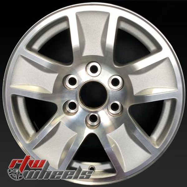 17 inch Chevy Silverado  OEM wheels 5657 part# 23173537