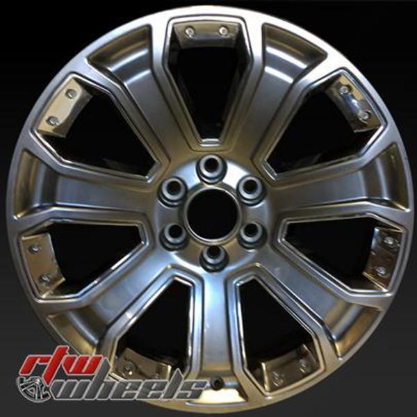 22 inch GMC   OEM wheels 5660 part# GM 19301190