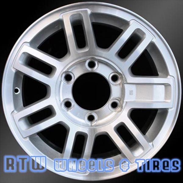 16 inch Hummer H3  OEM wheels 6304 part# 09594959