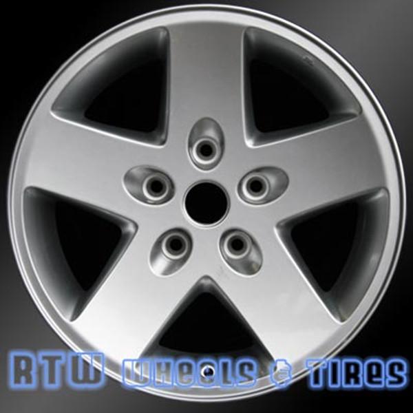 17 inch Jeep Wrangler  OEM wheels 9074 part# 1AH78TRMAD, 1AH78TRMAB