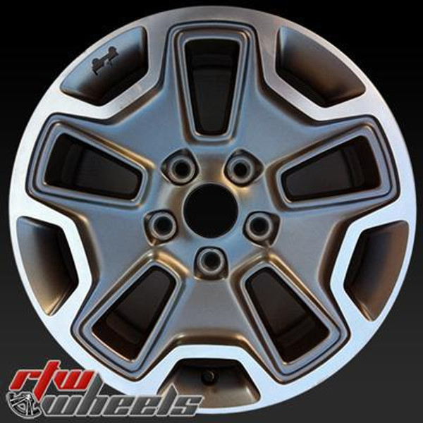 17 inch Jeep Wrangler  OEM wheels 9118 part# 1XA50TRMAA, WFA, WFE, WJP