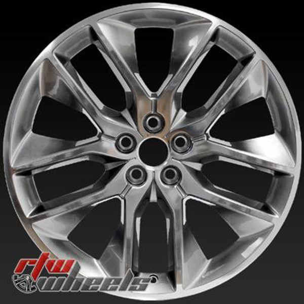 20 inch Ford Edge  OEM wheels 10046 part# FT4Z1007F, FT4C1007F1A, FT4C1007F1B, FT4CF1A, FT4CF1B