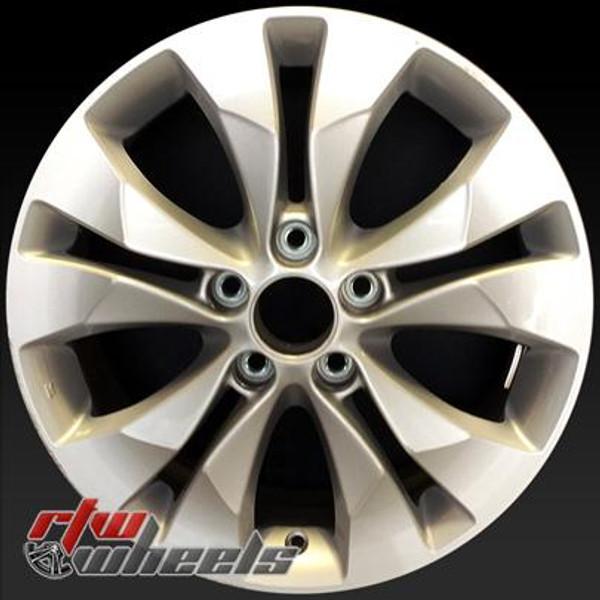 17 inch Honda CRV  OEM wheels 64040 part# 42700T0AA82, 42700T0GA81, 42700T0KA81, 42700T0AA81, 42700T0AJ82, 42700T0GA71, 42700T0JJ82