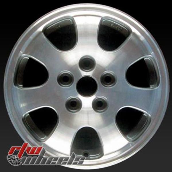 15 inch Mazda 626  OEM wheels 64803 part# 9965D46050