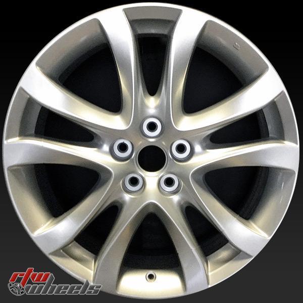 """19x7.5"""" Mazda 6 oem wheel rim 64958 silver"""