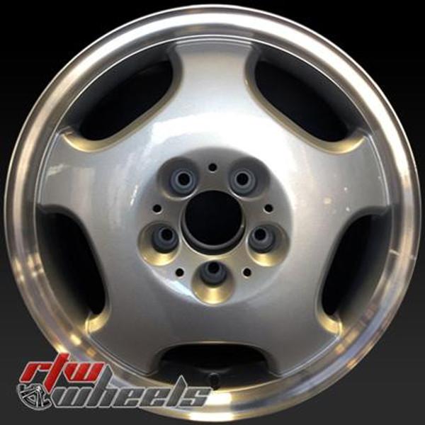 16 inch Mercedes Benz  OEM wheels 65166 part# 2104010402