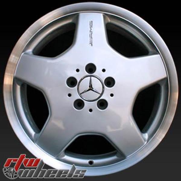 18 inch Mercedes   OEM wheels 65206 part# 2204010802, 2204012002