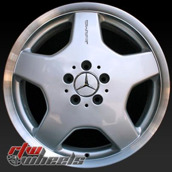 18 inch Mercedes Benz  OEM wheels 65207 part# 2204010902, 2204012102