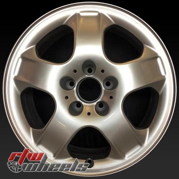 17 inch Mercedes ML  OEM wheels 65264 part# 1634011702