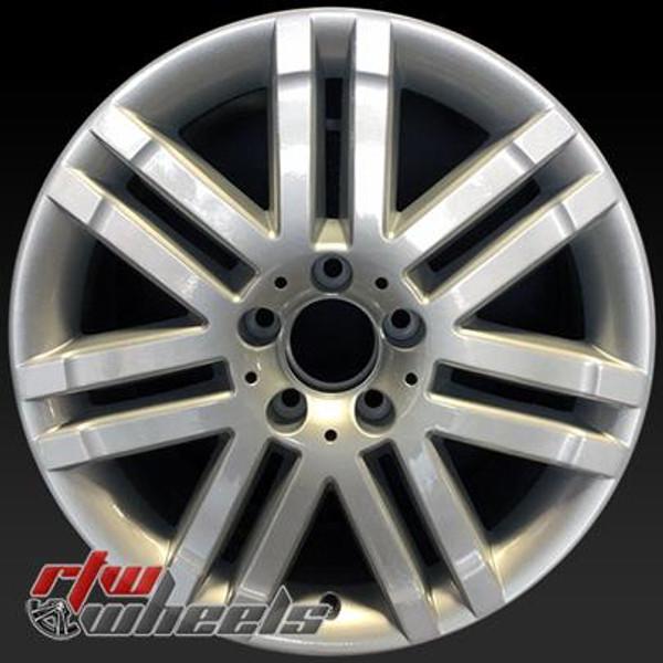 17 inch Mercedes C300  OEM wheels 65523 part# 2044010302
