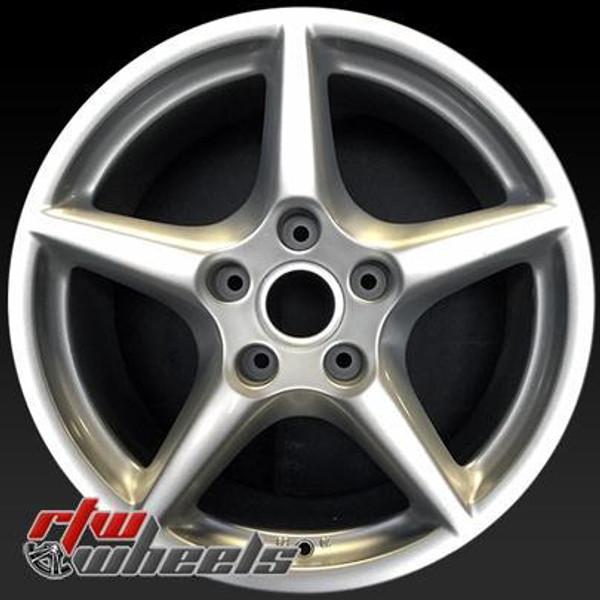 18 inch Porsche 911  OEM wheels 67321 part# 99736213600