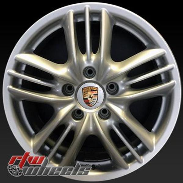 18 inch Porsche Cayenne  OEM wheels 67351 part# 955362136409, 955362136409A1