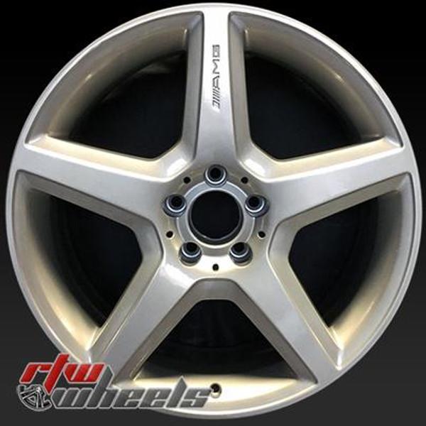 19 inch Mercedes SL55  OEM wheels 85040 part# 2304013102