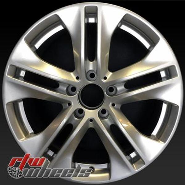 17 inch Mercedes E350  OEM wheels 85124 part# 2074010302
