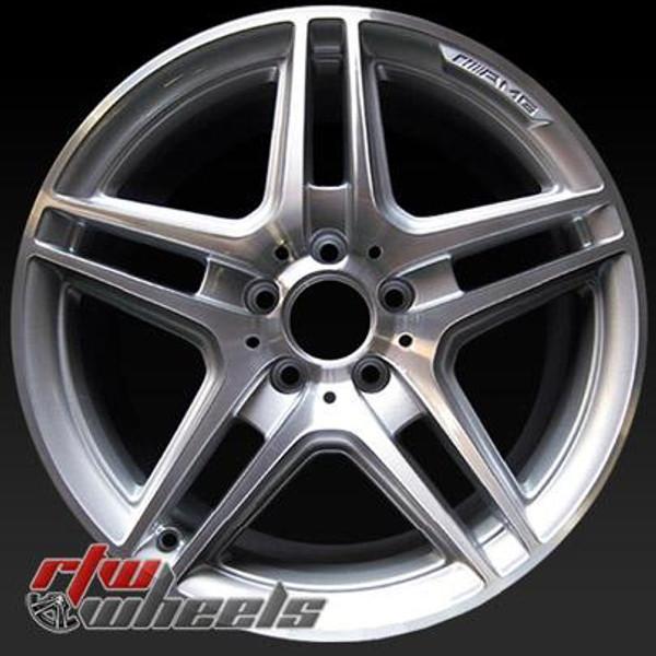 18 inch Mercedes E550  OEM wheels 85147 part# 2124013702
