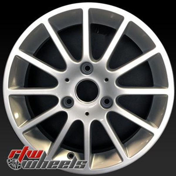 Smartcar Passion oem wheels 85175 Silver factory rim