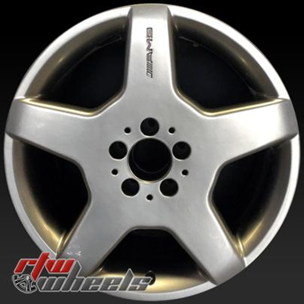 18 inch Mercedes   OEM wheels 85317 part# 2204013702