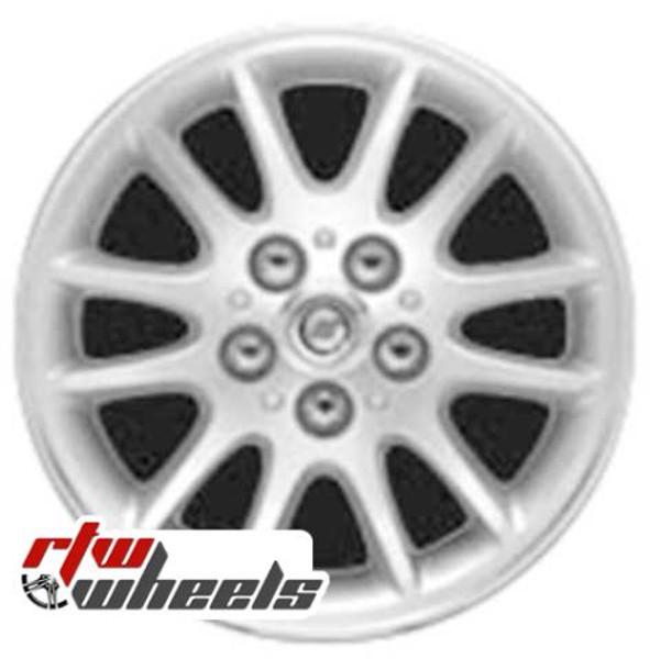 16 inch Chrysler Sebring  OEM wheels 2207 part# tbd