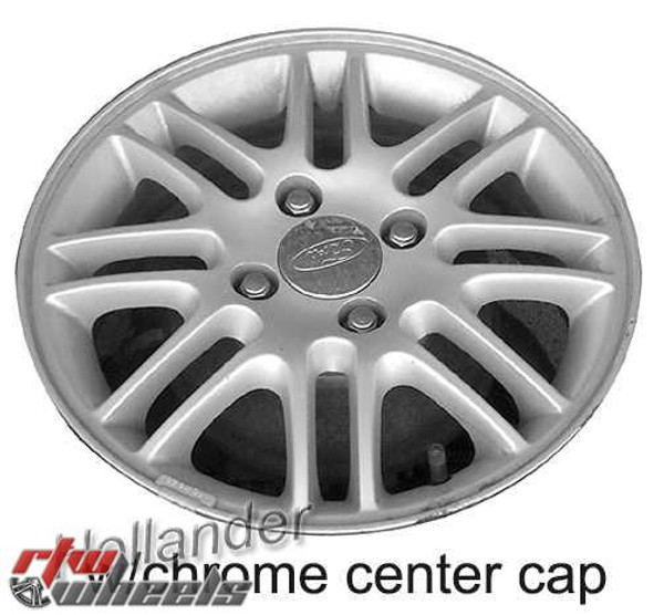 15 inch Ford Focus  OEM wheels 3367 part# 8S4Z1007E, AS4Z1007C, AS4Z1007D