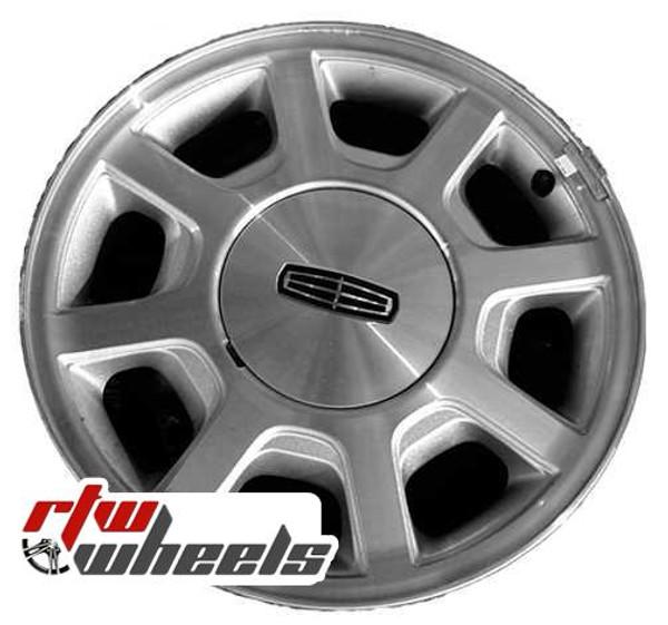 Lincoln Town Car Wheels 2000 2002 16 Machined Rims 3441