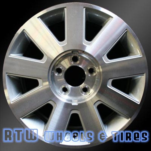 Lincoln Town Car Wheels 2003 2004 17 Silver Rims 3501