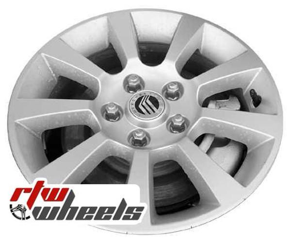 16 inch Mercury Milan  OEM wheels 3643 part# 6N7Z1007AA