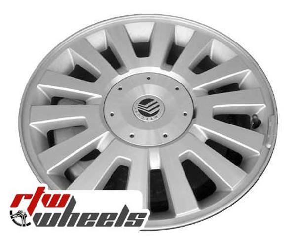 17 inch Mercury Sable  OEM wheels 3697 part# 8A4Z1007A