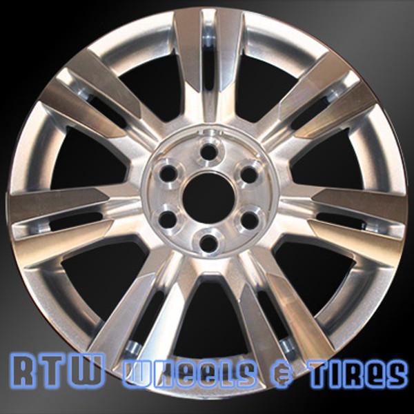 18 inch Cadillac SRX  OEM wheels 4664 part# 09597417