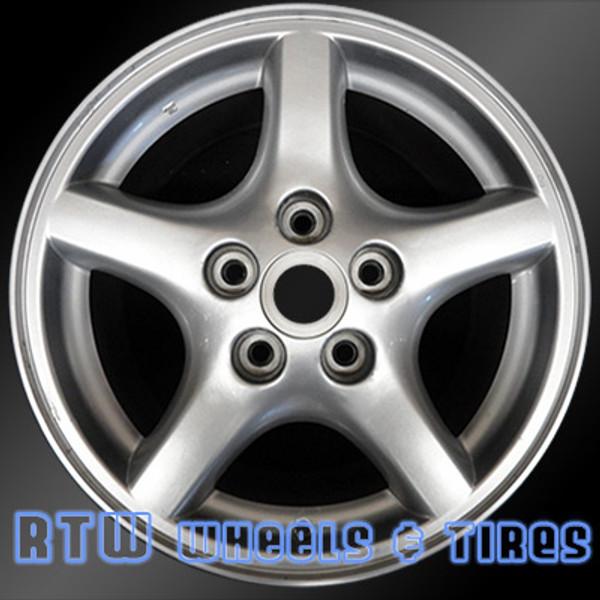"Pontiac Firebird wheels for sale 1995-2002. 16"" Sparkle Silver rims 6516"