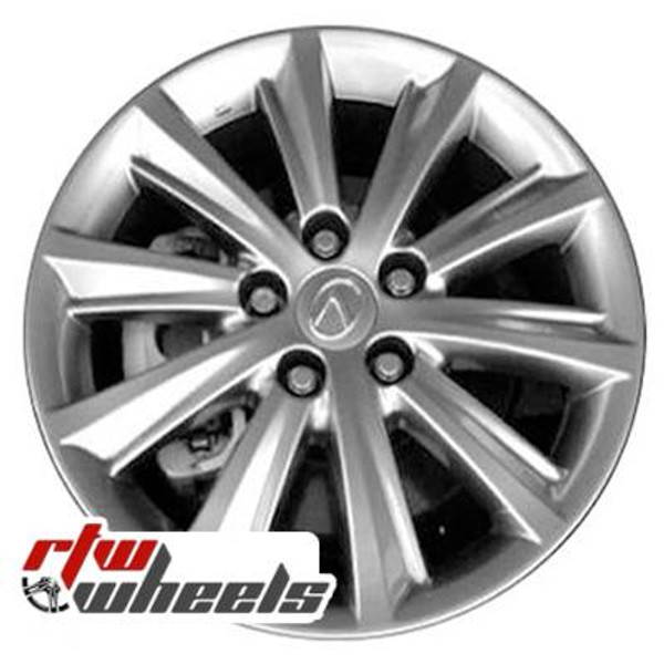 17 inch Lexus ES350  OEM wheels 74225 part# 4261A33050, 4261A33060