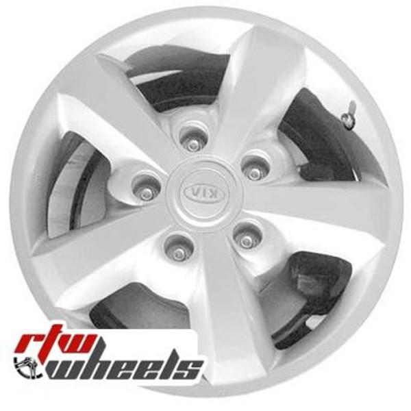 17 inch Kia Sorento  OEM wheels 74596 part# 529103E752, 529103E752