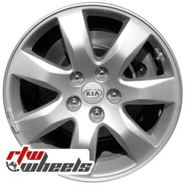 17 inch Kia Sorento  OEM wheels 74632 part# 529102P175