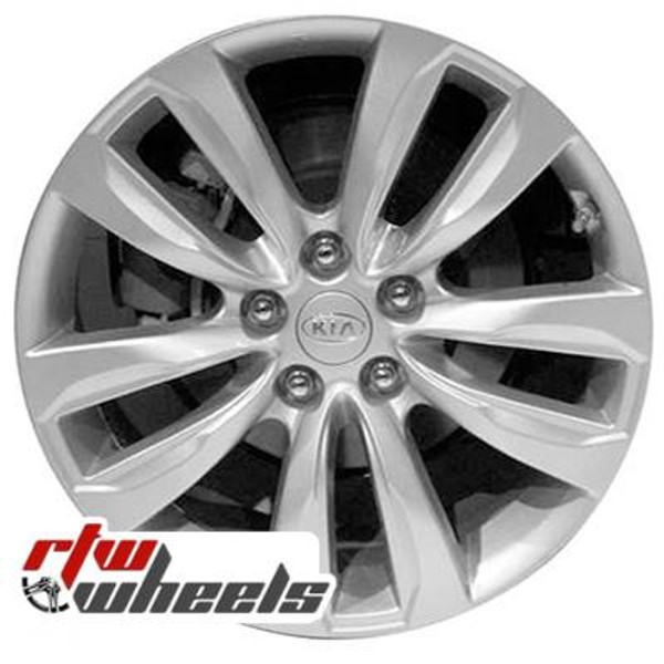 18 inch Kia Sorento  OEM wheels 74633 part# 529102P185