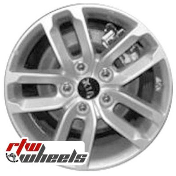 16 inch Kia Optima  OEM wheels 74637 part# 529102T150, 529104C150