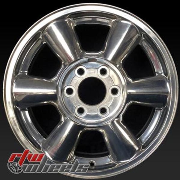 17 inch GMC Envoy OEM wheels 5143 part# 09595181, 09595182