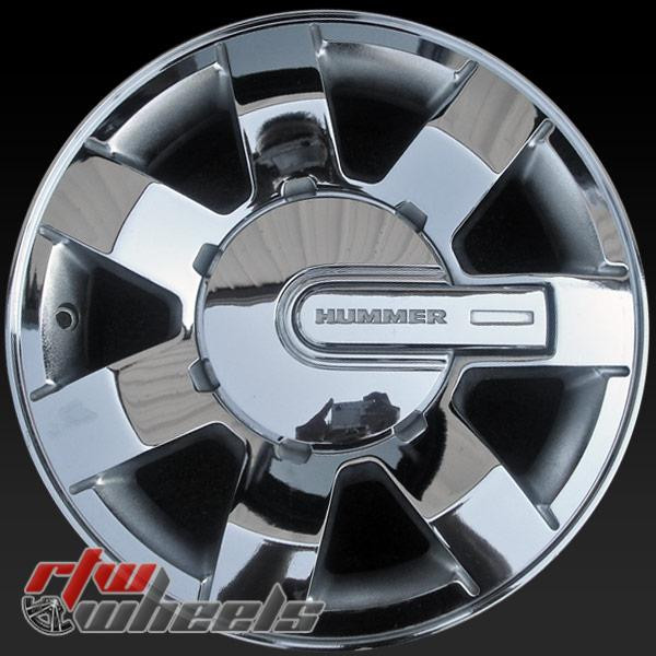 16 inch Hummer H3 OEM wheels 6303 part# 9595907