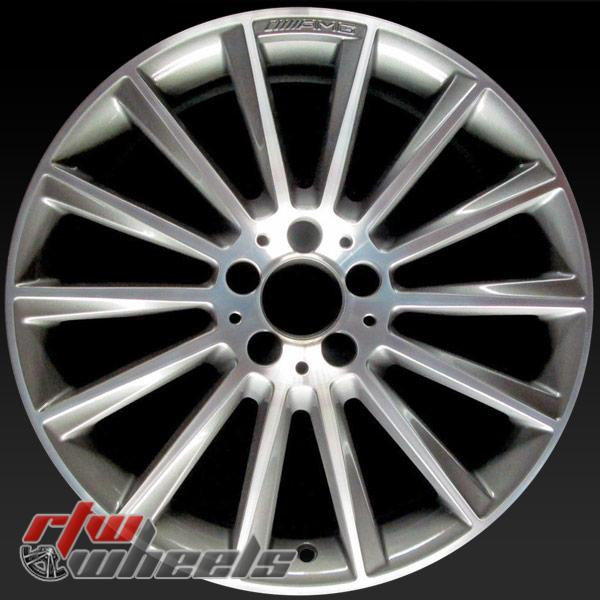 19 inch Mercedes C300 OEM wheels 85518 part# 2054011300, 20540113007X21