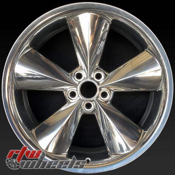 "Dodge Challenger OEM wheels 2015-2018 20"" Polished rims 2524"