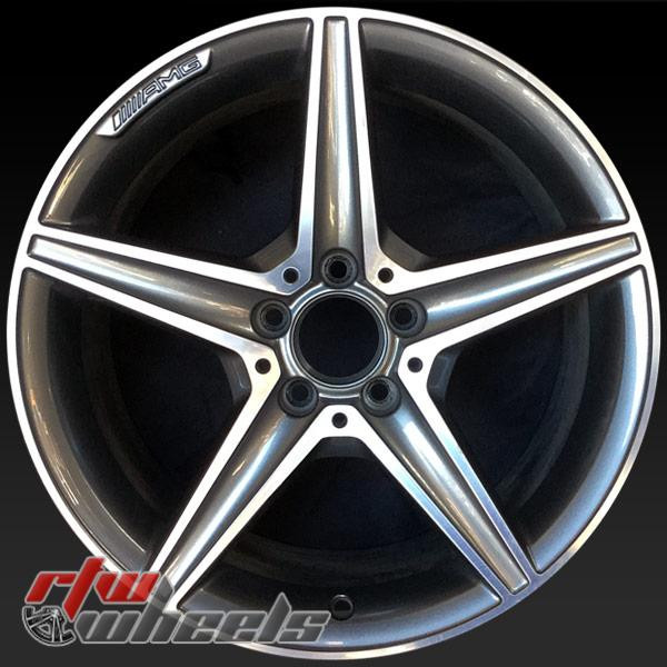 18 inch Mercedes C Class OEM wheels 85373 part# 2054011200, 20540112007X21