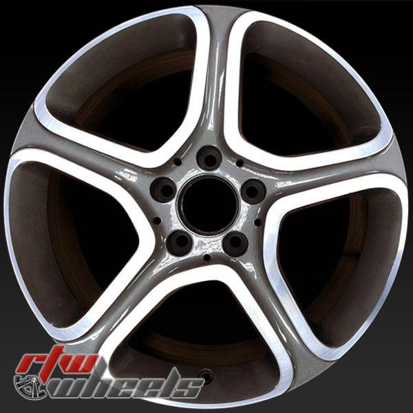 17 inch Mercedes CLA250 OEM wheels 85337 part# 2464011902