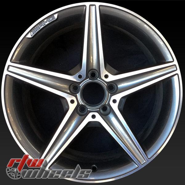 18 inch Mercedes C Class OEM wheels 85372 part# 2054011100