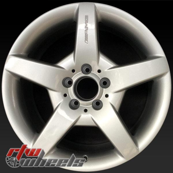 17 inch Mercedes SLK350 OEM wheels 65355 part#  A1714011402, 1714011402