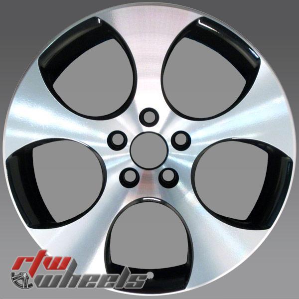 18 inch Volkswagen VW Golf OEM wheels 69822 part# 1K0601025BAFZZ, 1K0601025BA