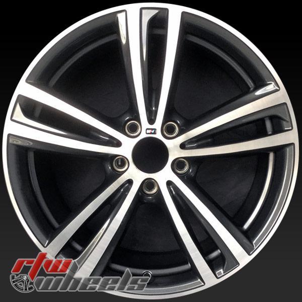 19 inch BMW 320i OEM wheels 86087 part# 36117852494
