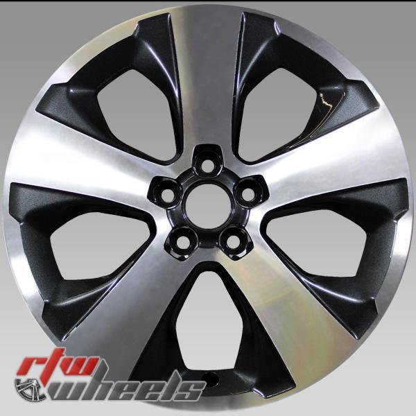 """Subaru 86 OEM wheels 2017-2019 17"""" Machined rims 68841"""