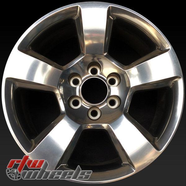 20 inch Chevy Silverado OEM wheels 5652 part# 20937764