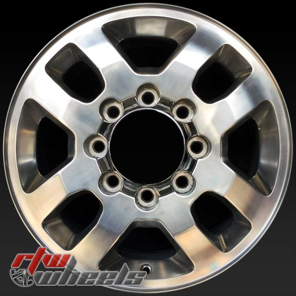 18 inch Chevy Silverado 2500 3500 OEM wheels 5502 part# 9597733, 09597733