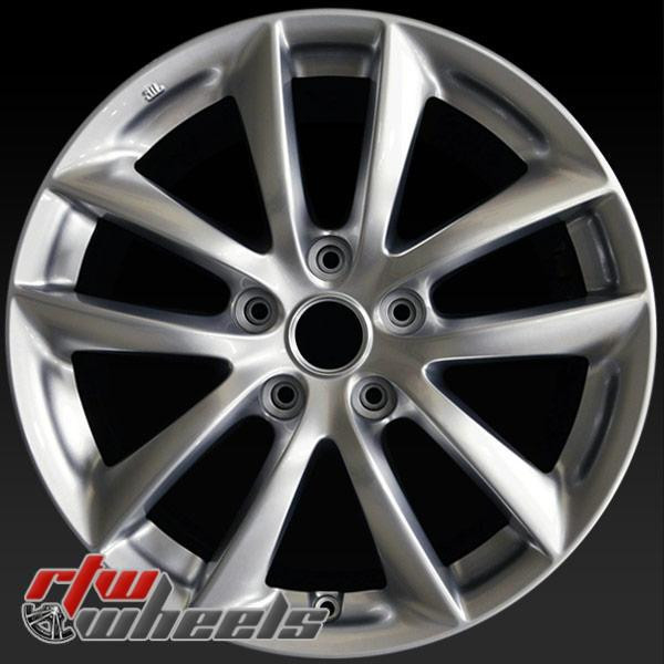 17 inch Infiniti G35 OEM wheels 73693 part# D0300JK010, D0300JK04A