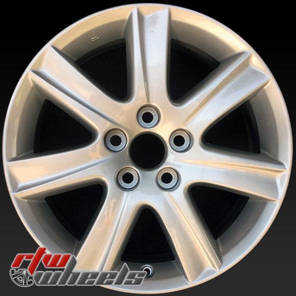 17 inch Lexus ES350 OEM wheels 74190 part# 4261133550, 4261133630, 4261133640, 4261133660